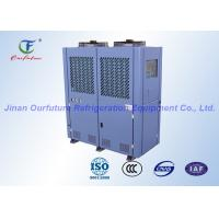 China Supermarket Walk-In Freezer Condensing Unit Danfoss Low Temperature on sale