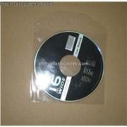China CD sleeve Plastic Clear CD Sleeve  plastic dvd sleeve dvd sleeves  in PP materail  142*125*0.5mm for 1 discs cheap price on sale