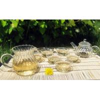 Quality glass tea set malaysia for sale