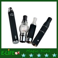 Buy cheap 2015 promotion price magic 3 in 1 dry herb and e liquid atomizer evod battery from wholesalers