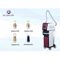 China Professional Nd Yag Laser Machine Pigmentation Removal 1 - 15hz Frequency on sale
