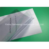 China 180 Micron Clear Plastic Binding Covers 210×297 mm 100 Sheets Per Pack on sale
