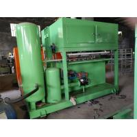 Quality Green Paper Pulp Molding Machine , Paper Egg Tray Making Machine With Computer Control for sale