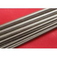 Buy Plain Stainless Steel Threaded Rod Grade A2 / A4 M100 at wholesale prices