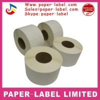 Quality Adhesive Thermal Barcode Label Roll Zebra Labels for sale for sale