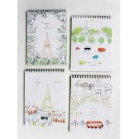 Quality promotional notebook spiral notebook with pvc cover any size any print for sale