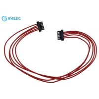 Quality DF52-5P-0.8C Hirose DF52-2832PCF Crimped 5 Pin Connector Hirose Cable 32AWG Wire Harness for sale