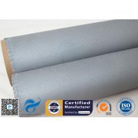 Buy cheap 1050gsm 0.85mm Silicone Coated Fiberglass Cloth Non Metallic Compensator from wholesalers