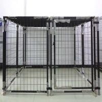 Quality Large Outdoor Pet House Welded Metal Dog Breeding Cage Products for sale