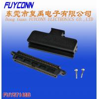 180 Degree Plastic Telco 50 Pin IDC Female Type Connector 25 Pairs