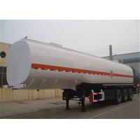 Quality Tri-axle durable fuel tanker trailer 50000 liters for sale