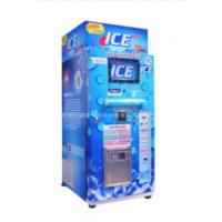 Buy Restaurant Commercial Ice Vending Machine Charged By Coin / Note CE Approval at wholesale prices