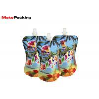 Quality Baby Food Spout Pouch Drink Packaging Bottom Gusset Reusable Eco Friendly for sale