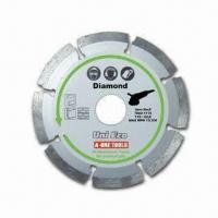 China Uni-eco Diamond Blade, Measures 115/22.2mm, Available in UE Type on sale