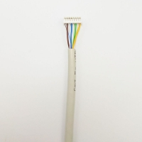 Quality 250MHz 1Gbps Cat6a Shielded Ethernet Cable RJ45 To Terminal 8P Pitch for sale
