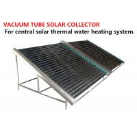 Quality Black Solar Energy Collectors , High Efficient Heat Pipe Solar Collector for sale