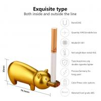 Quality Windproof Portable Usb Rechargeable Cigarette Lighter , Electric Flameless Lighter for sale
