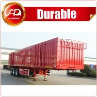 Shandong Fudeng Coal transporting dry van type box truck Enclosed cargo semi trailer