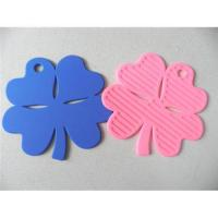 Quality 2012 new design flower shape silicone coaster for sale