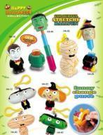 Buy OEM Hallowmas stretchy ballpen toy & change purse key chains at wholesale prices