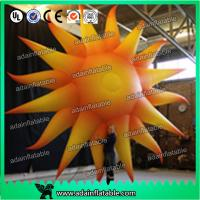 Quality 2m Color Changing Led Inflatable Lighting Balloon Concert Decoration Inflatable Sun for sale