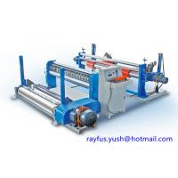 Quality Automatic Paper Pipe Making Machine / Jumbo Roll Slitter Rewinder Industrial for sale