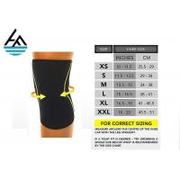 Quality Colorful Knee Support Neoprene Sleeve Casual Style For Weight Lifting for sale