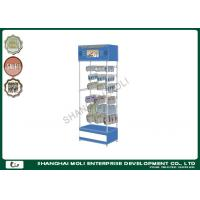 Quality Custom durable 4 tiers headphone display rack for retail shop display units for sale