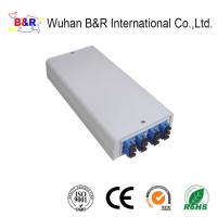 Quality Indoor 12 Cores ABS Fiber Optic Distribution Box for sale