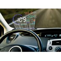 Audi A8 5.5 Inch Obd ii Car Hud Head Up Display , Digital Speedometer On Windshield