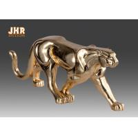 Quality Gold Foil Polyresin Animal Figurines Indoor Decor for sale