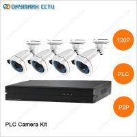 Quality New tech network 4CH 720P Plug and Play PLC Security Camera System for sale