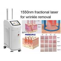 Quality Non Ablative Wrinkle Laser Machine With 1550nm Erbium Glass Fractional Laser Technology for sale