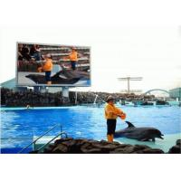 Quality 1/8 Scan Led Outdoor Advertising Screens , 33W Led Video Billboards SMD1921 for sale