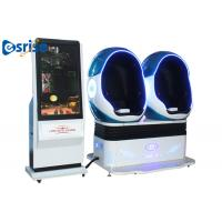 Buy 2 Seats 9D VR Motion Cinema Interactivity VR Game / Amusement Simulator Game at wholesale prices