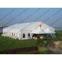 Quality 20 x 25m White Wedding Event Tents , Outdoor Luxury Tent Wedding Ceremony for sale