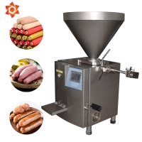 Quality Hydraulic Electric Sausage Stuffer Vertical Type Low Noise Energy Saving for sale