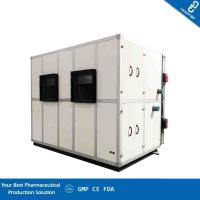 Quality Floor Standing Type Clean Room AHU Heat Recovery Combined Supply Air Vel 12.92 M/S for sale