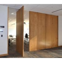 China Interior Removable Sliding Folding Partition Acoustic Room Dividers Easy To Operate on sale