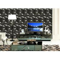 Quality Mould - Proof Removable home decoration wallpaper With Geometric Pattern for sale