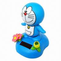Quality Solar Doll Toy, Scooter, Flower, Power Toy, Great for Promotional and Souvenir Purpose for sale