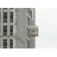 Quality Yellow Vertical Lifting Materials 450m Construction Hoist Elevator for sale