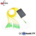 Quality 1x16 PLC Fiber Optic Splitter , ABS Module 2.0mm GPON Optical Splitter for sale