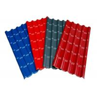 Quality Red Grey Blue Pre Painted Corrugated Sheet DX51D SGCC Slip Resistance For Roofing for sale