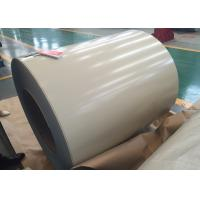 Quality Brown White Coil Coated Galvanized Steel for sale