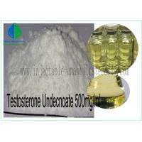 China Oil Injectable Anabolic Steroids Testosterone Undecnoate 500mg / Ml CAS 5949-44-0 on sale