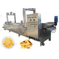 China Electric & Gas Automatic Fryer Machine Potato French Fries Frying Machine on sale