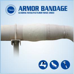China 100mm 4.6m Ansen Black Pipe Wrap Repair Bandage Fix it Wrap Repair Tape Fiberglass Fix Tape on sale