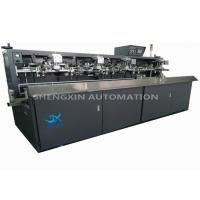 China 900pcs / hr Automatic Screen Printing Machine for Liqour / Wine / Beer Glass Bottle on sale