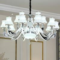 Quality Remote Control Led Acrylic Chandelier for Indoor home Lighting Fixtures (WH-LC-03) for sale
